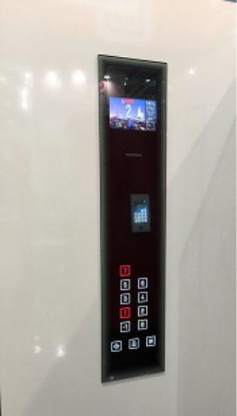 La nostra ricerca dei particolari.... bottoniera in cristallo touch screen